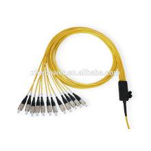 12-жильный волоконный патч-корд, разъем SC FC LC ST MPO оптический патч-корд, волоконно-оптический патч-корд
