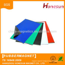 New product promotion factory supply cheap soft flexible rubber magnet