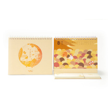 2017 neue Design Customized Tischkalender für Geschenk