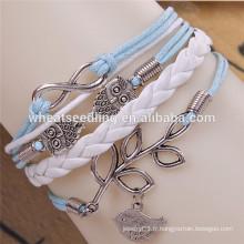 Bracelet boucle de ceinture à mode multicouches