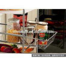 Grille de rangement de cuisine à tiroirs