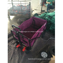 Good Quality Double Brake Folding Wagon