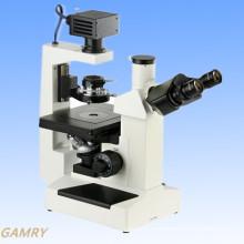 Microscopio biológico invertido de alta calidad profesional (IBM-1)