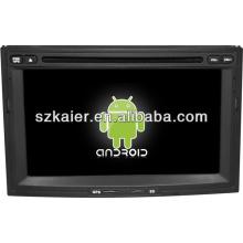 Navigateur dvd de voiture de système androïde pour Peugeot 3008/5008 avec GPS / Bluetooth / TV / 3G / WIFI