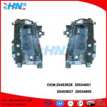 Head Light Housing 20453628 20534601 RH 20453627 20534600 LH VOLVO Truck Parts