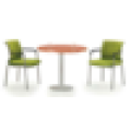 Simple aluminum wooden conference table, acrylic conference table