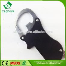 New novelty mini led flashlight bottle opener multi tool keychain