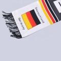 bufanda de fútbol de Alemania de poliéster de punto de alta calidad