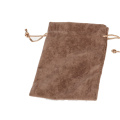 Brown Velvet Jewelry Pouches China Manufacturer (P-BV-B)