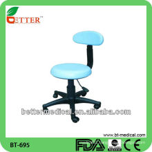 Doctor's chair with armrest