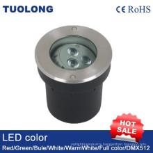 6W LED Inground Light with Angle Adjustable Underground Garden Lighting