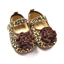 Fashion Leopard Infant Toddler Moccasins Soft Sole Baby Shoes