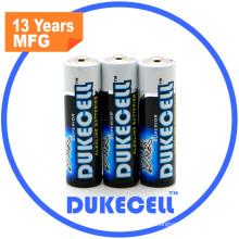0% Hg Alkaline Battery Lr6 con paquete a granel