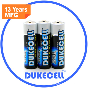 Lr6 Size AA Am3 1.5V Battery with Blister Card Packing