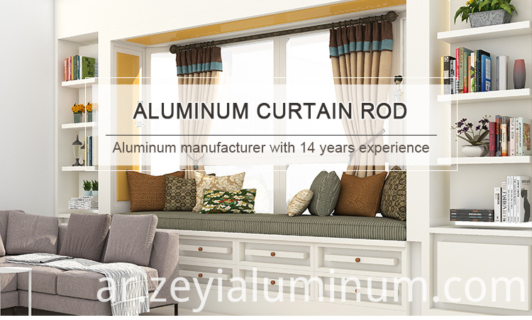 Aluminum Curtain Rod