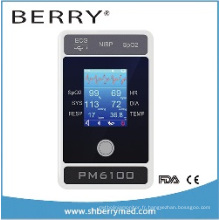 6 Paramètre Moniteur patient Pm6100 avec écran