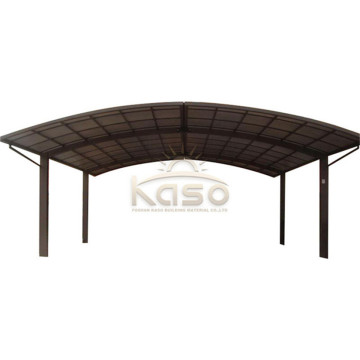 Single Garage Car Shelter Parking Pc Sheet Carport