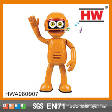 2015 New Product Interesting Kids B/O Singing talking robot toys