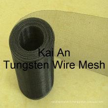DIA 0.1 mm 30 mesh Tungsten Mesh / Tungsten Woven Mesh / Tungsten Screen ---- usine de 35 ans