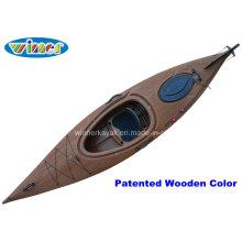 3.44mtrs Imatation do Wood-Drain o único Kayak de excursão da plataforma