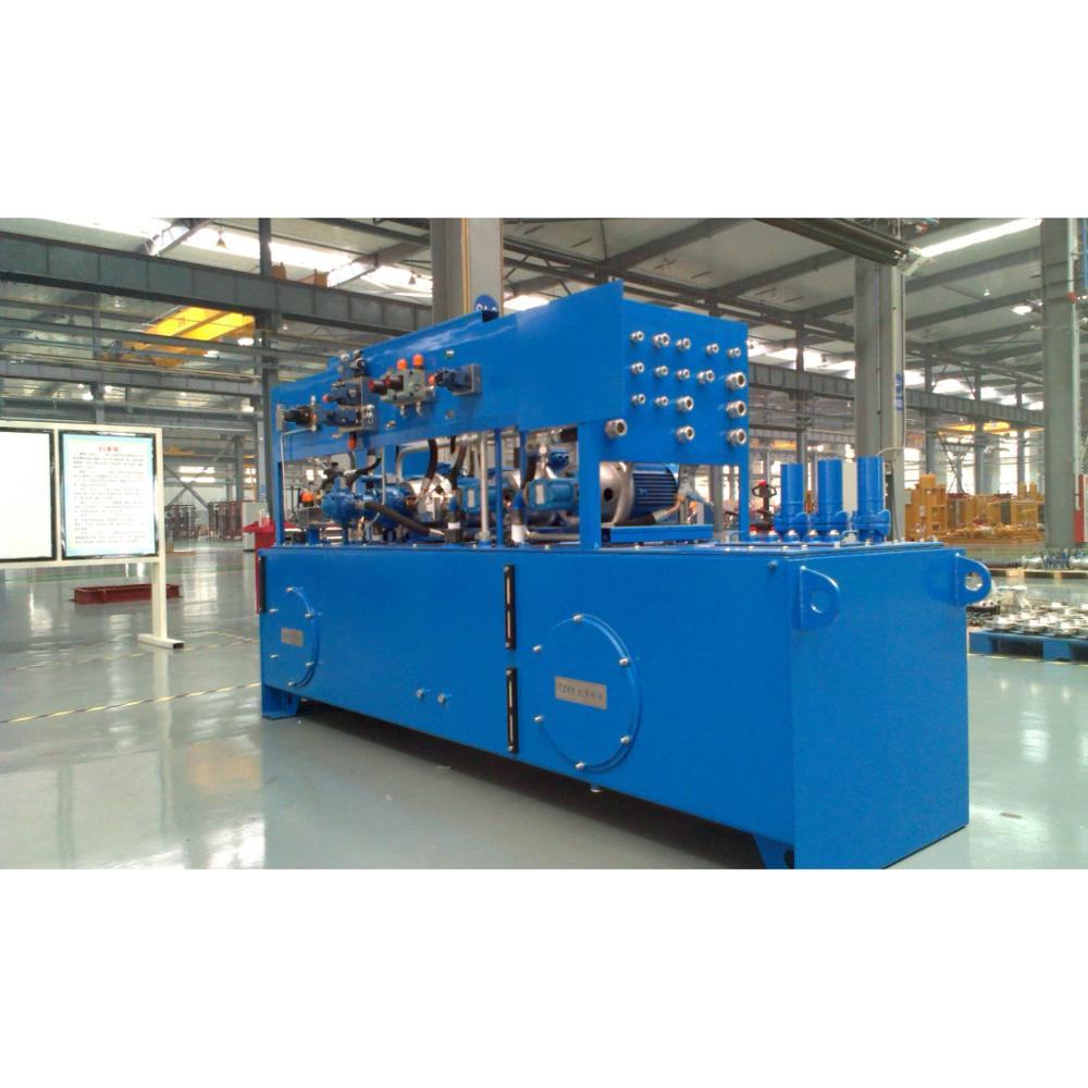 Heavy machine hydraulic system