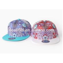 2016 - новейшая цифровая печатная плоская шляпа и колпачки с натуральным цветом