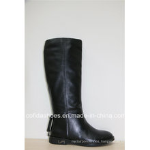 Comfort Casual Flat Leather Women Winter Boots