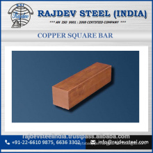 Good Quality Superior Brand Selling Copper Square Bar at Best Price