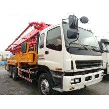 Модернизированный 37-метровый насосный грузовик Sany ISUZU