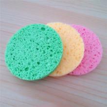 Wholesale Natural Wood Pulp Cellulose Sponge Makeup Mover Sponge