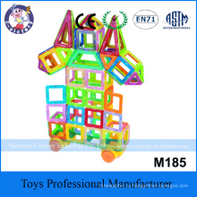 Educational Plastic Toy Construction Building Blocks Magnetic Toy