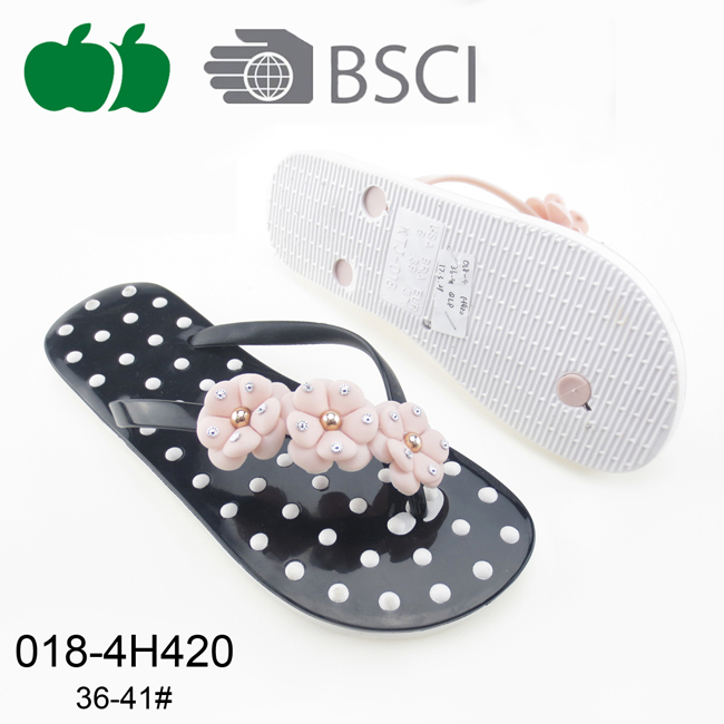 2017 Ladies High Quality Fashion New Style Flip Flop