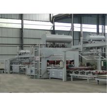 Automatische Kurzzyklus-Melamin-Laminier-Heißpress-Produktionslinie