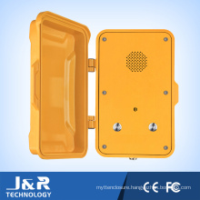 Industrial Weather Proof Telephone with Cover Handsfree Industrial Telephone