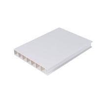 Perfil de puerta de PVC Panel de puerta de 20 mm de tamaño pequeño