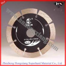 Malla de corte en seco y lámina de diamante de cerámica 114mm