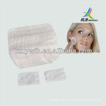 Coussin cosmétique 100% coton, tapis de maquillage