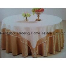 Hot vendendo alta qualidade jacquard têxteis pano de mesa para o hotel