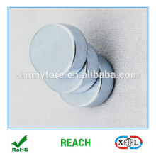 N35 10 * 3mm Zicn Caoting Runde Form magnet