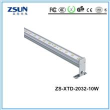 Luz LED linear ao ar livre IP65 DMX RGBW 4 em 1 lâmpada