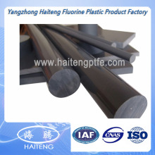 Black PVC Solid Rod