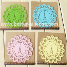 Hot Sale Customized Soft Silicone Cup Pad