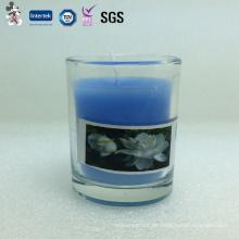 Fabrik Preis Gut aussehend Konkurrenzfähiger Preis Party Dekoration Glas Tasse Kerze