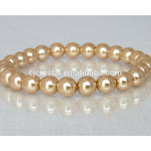 Wholesale high quality beautiful crystal glass bead bracelet