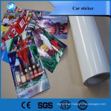 factory discount price 120g black glue pvc self adhesive vinyl for interior and exterior design commerical