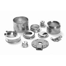 La fabricación de piezas metálicas.