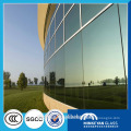 10mm thick building flat Bent curve tempered glass in China