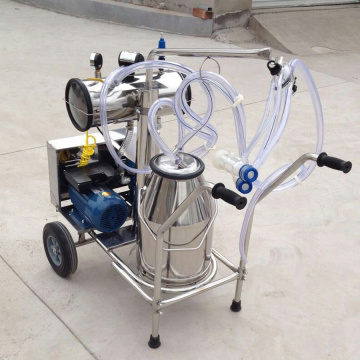 Satu Pam Vakum Barrel Portable Milking Machine
