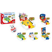 5 em 1 jogo do esporte conjunto brinquedo esporte (h5005016)