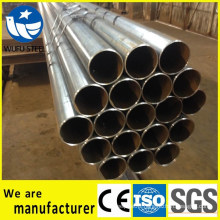 ISO 9001 high standard welded Q235 steel pipe